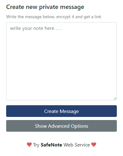 Private Message Extension